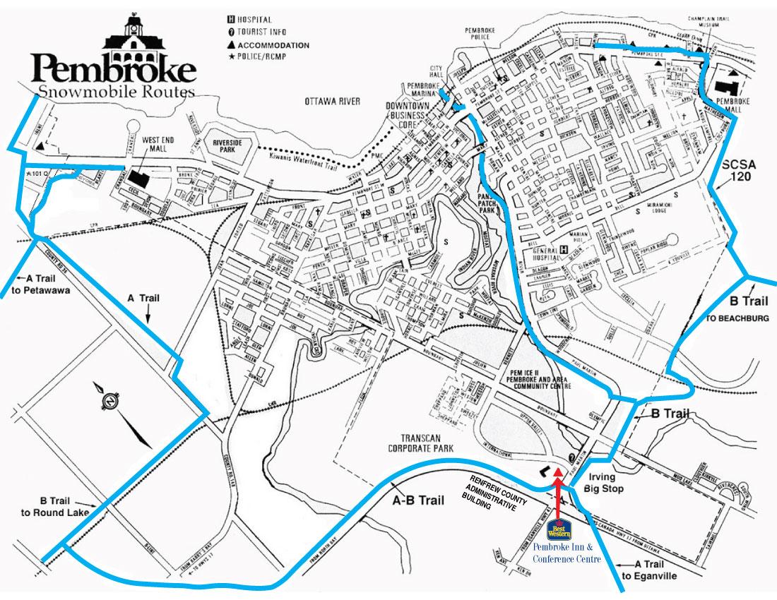 Pembroke Snowmobile Trail System