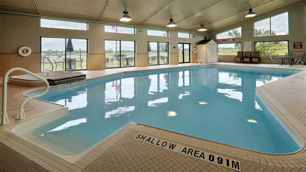 About the Indoor Salt Water Swimming Pool