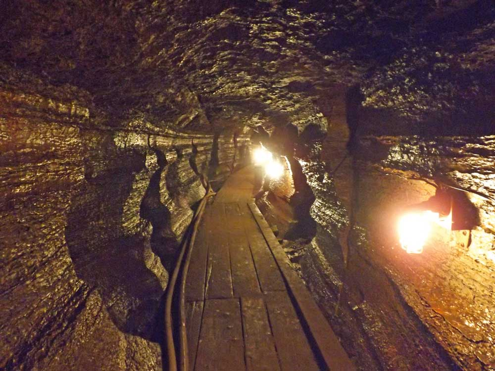 Touring the Bonnechere Caves in Eganville