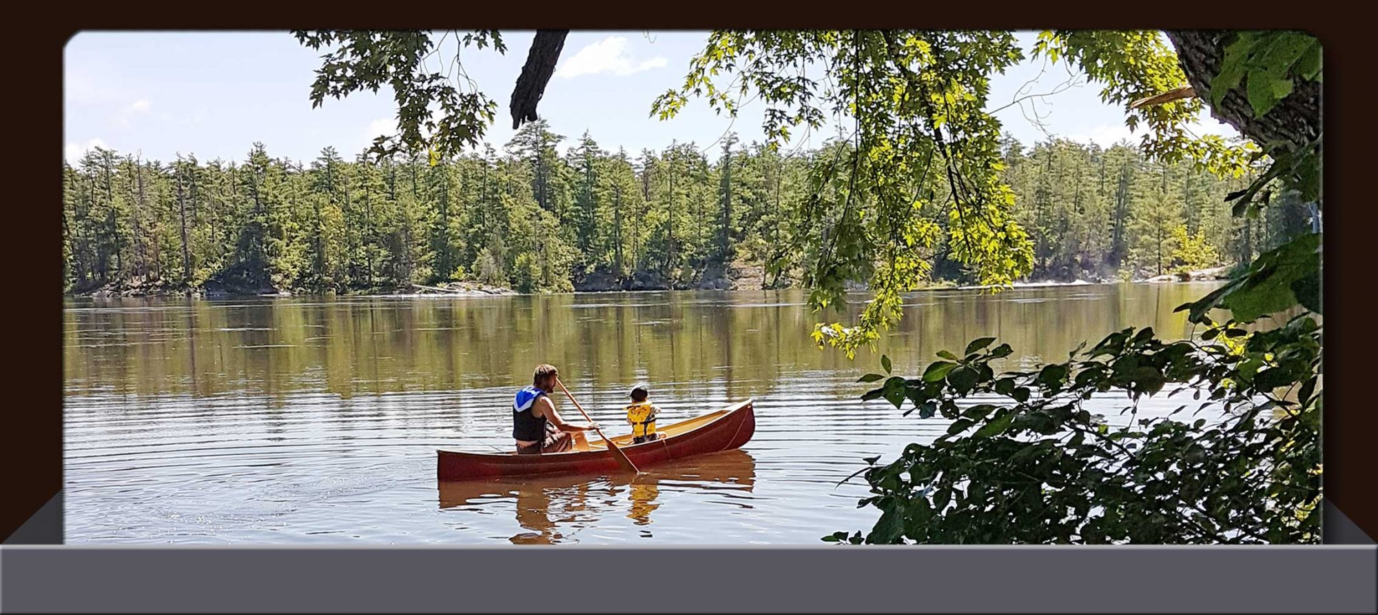 Canoe & Shoreline Lunch Package