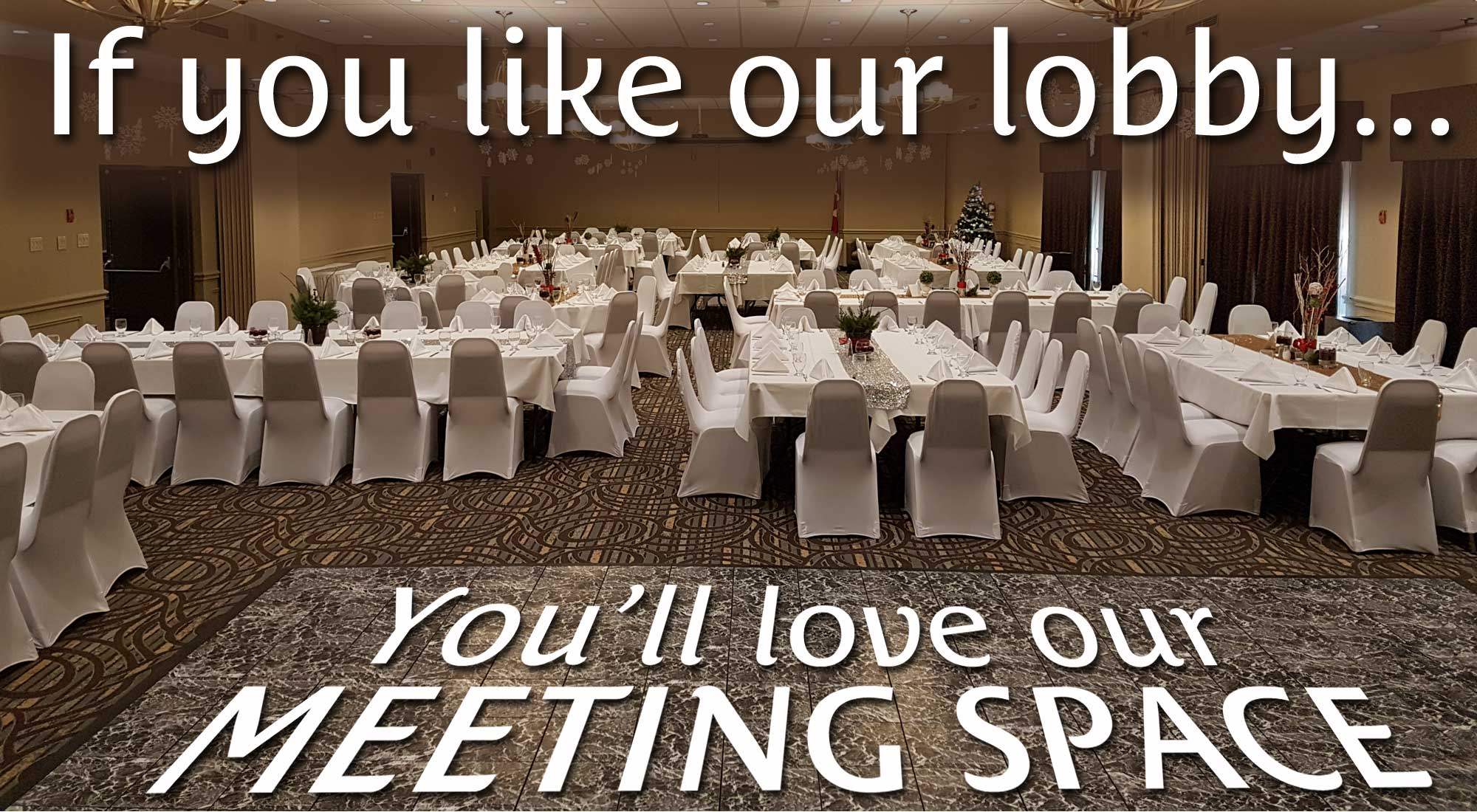 You'll Love our Meeting Spaces